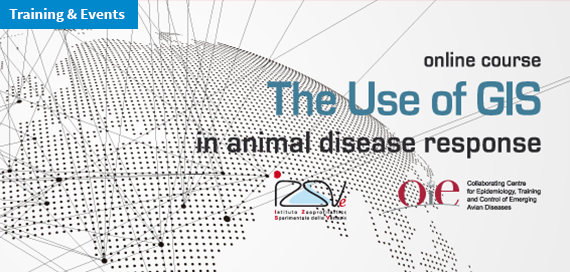 GIS online training course «The use of GIS in animal disease response»