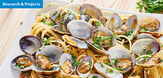 How long to cook clams to eliminate the risk of hepatitis A
