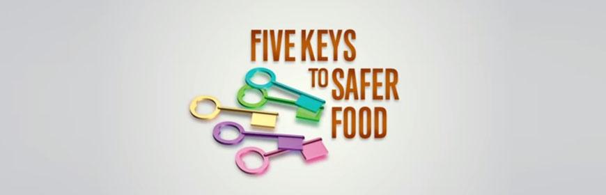 Five keys to safer food [video]
