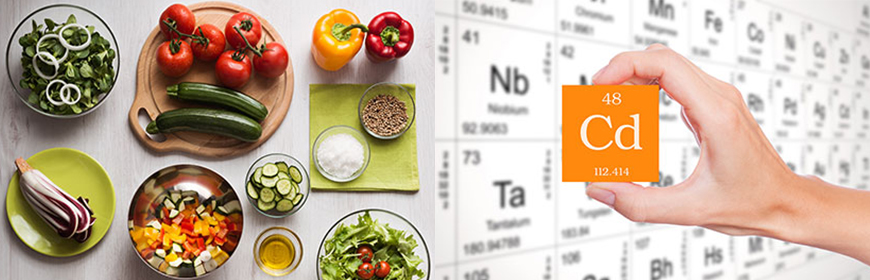 Exposure to cadmium: which risk for the mediterranean and the vegan diet?