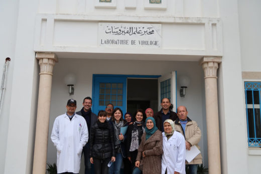 OIE twinning project between IZSVe and the Tunisian Veterinary Research Institute (IRVT)
