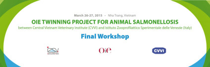 Final workshop of the OIE Twinning project on animal salmonellosis