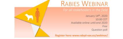 RABYD-VAX, free webinar on rabies